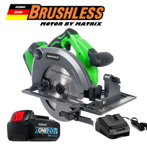 MATRIX 20V X-ONE Brushless Circular Saw Kit