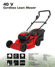 Load image into Gallery viewer, 2x20V X-ONE Cordless Lawn Mower - MATRIX Australia