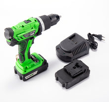 Load image into Gallery viewer, KAWASAKI 20V X-ONE Brushless Drill and Accessories Toolbox Kit