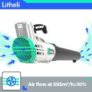 LITHELI 40v Lithium Jet Leaf Blower Kit