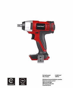20v X-ONE Cordless Impact Wrench & Drill Combo Kit - MATRIX Australia