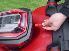 Load image into Gallery viewer, 2x20V 40V X-ONE Cordless 370mm Brushless Lawn Mower 4 Battery Kit - Matrix Australia