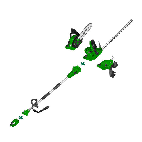 Corded Electric Pole Chainsaw Hedge Trimmer Line Whipper Snipper 5in1 - MATRIX Australia