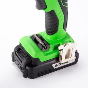 KAWASAKI 20V X-ONE Brushless Drill and Accessories Toolbox Kit