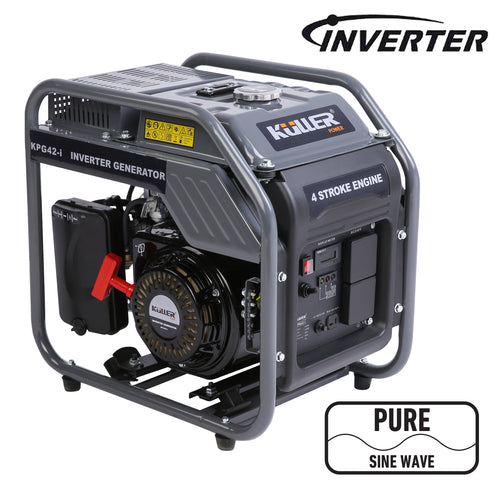 4200w Pure Sine Wave Single-Phase Petrol Inverter Backup Generator - Matrix Australia