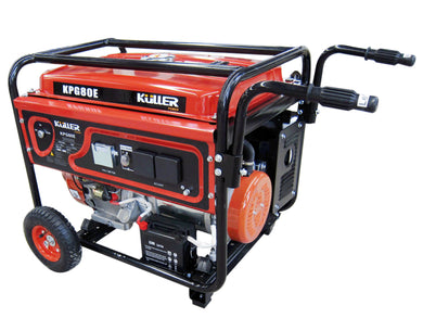 KULLER 18HP 8000w Max/7500w Rated Single-Phase Petrol Backup Generator