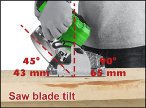 20V X-ONE Brushless Circular Saw - MATRIX Australia
