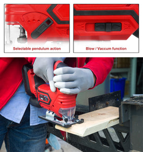 20v X-ONE Cordless Jig Saw - MATRIX Australia