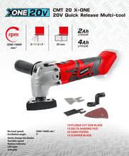 Load image into Gallery viewer, 20v X-ONE Cordless Multi Tool - MATRIX Australia