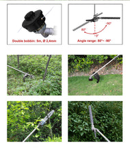 Load image into Gallery viewer, 33CC 4in1 Petrol multi-function Chainsaw Hedge Trimmer Grass Trimmer - MATRIX Australia
