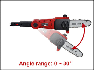 20v X-ONE Cordless Pole Chainsaw Kit incl Battery - MATRIX Australia