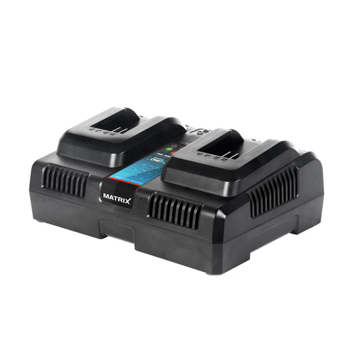 20v X-ONE Lithium Dual Battery Charger 2.2A - MATRIX Australia