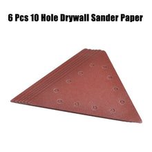 Load image into Gallery viewer, 6 Pieces Delta 10 Holes Sanding Discs Sander Paper For Drywall Sander ?? 225 - MATRIX Australia