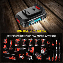 Load image into Gallery viewer, 20V X-ONE Drill Impact Driver Angle Grinder Combo Kit