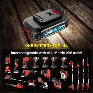 20v X-ONE Cordless Variable Speed Leaf Blower Kit (incl Battery and Charger) - MATRIX Australia