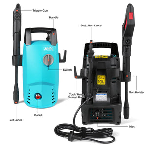 Electric High Pressure Washer 1450 PSI