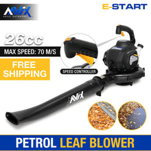 Load image into Gallery viewer, Petrol 2 stroke Leaf Blower 26cc