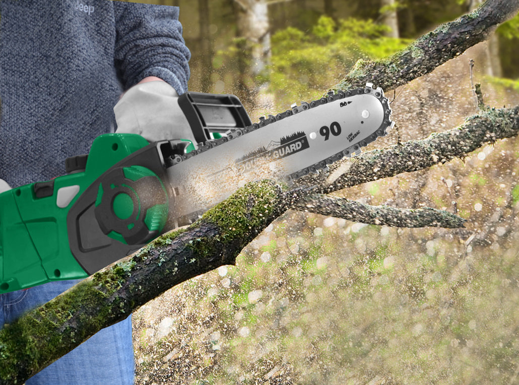 Corded Electric Pole Chainsaw Hedge Trimmer Line Whipper Snipper 5in1