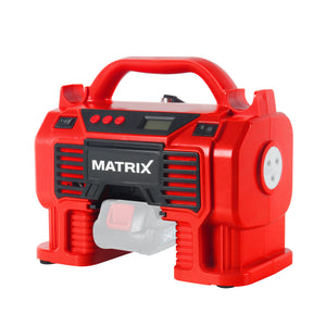 20v X-ONE Cordless Air Pump Inflator Pump - MATRIX Australia