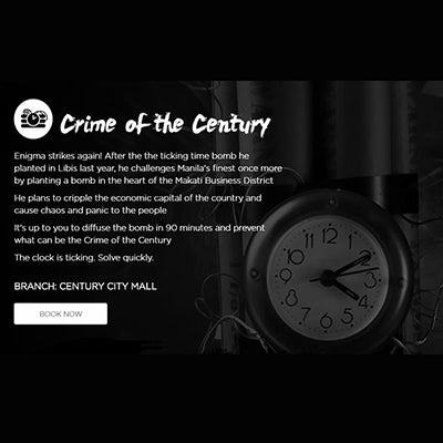 20% OFF Mystery Manila Gift Certificate - Century City Mall