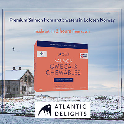 11% OFF Atlantic Delights – Salmon Omega 3 Chewables