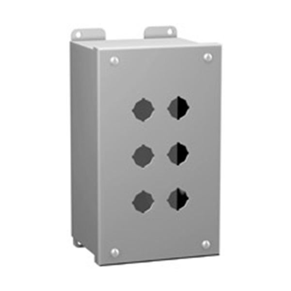 MPB Series Hammond MFG Painted Steel Push Button Enclosures