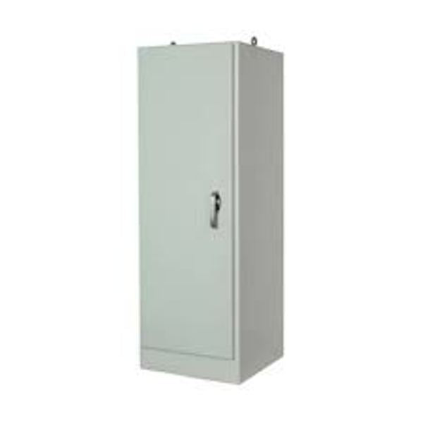 Free Standing Single Door Fiberglass Enclosure 3-Point Lockable Cover