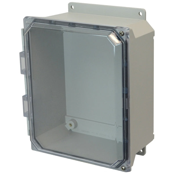 Ultra-Line Fiberglass Series Enclosure- Hinge Clear Screw Cover