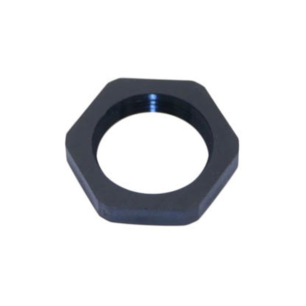 Cable Gland Lock Nut Accessories Black - Mencom