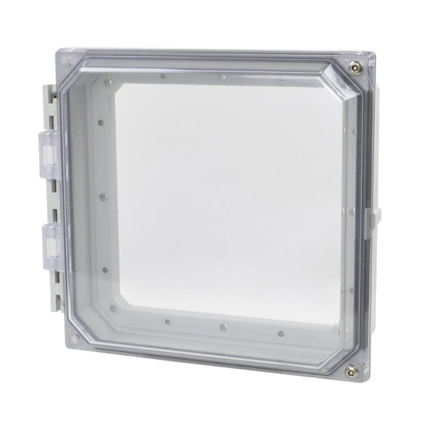 HMI Cover Kit-Hinged Tamper Proof Screw Clear Cover