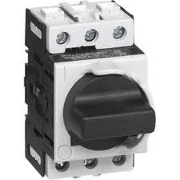Disconnect Switch- Din Rail In Panel Mount Padlockable
