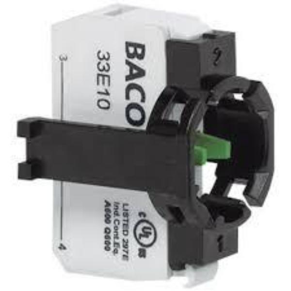 BACO Accessories - 22mm/30mm Plug-In Terminal Contact Block