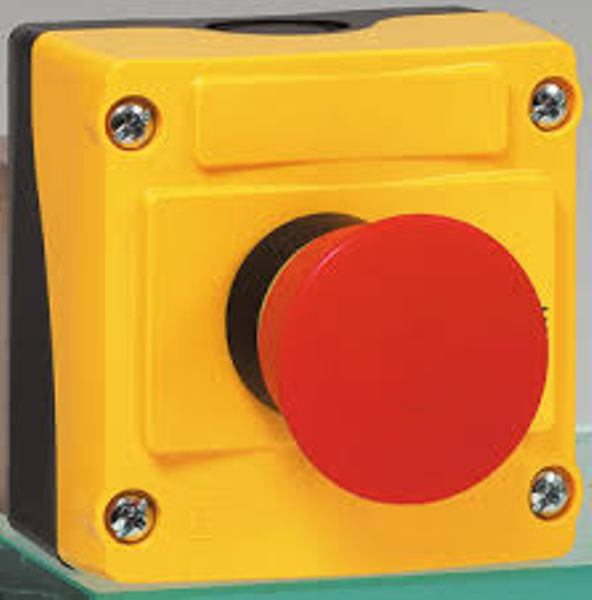 IP69K Rated 22mm Control Station - Emegency-Stop Push-Pull To Reset 40mm Non Illuminated