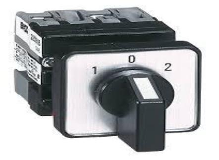 "Mini Cam Switches-ø16/22mm Single Hole Mounting ( 3-way without ""off"" ) General Use Rating 12Amps"