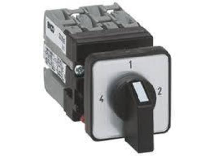 "Mini Cam Switches-ø16/22mm Single Hole Mounting ( 4-way without ""off"" ) General Use Rating 12Amps"