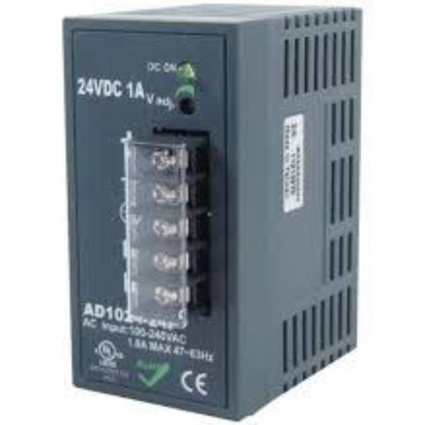 Mencom 24 VDC DIN-Rail Mounting Power Supply
