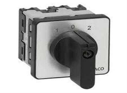 "PR ONE Change-Over Switches With ""OFF"" Position"
