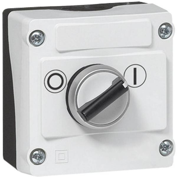 IP69K Rated 22mm Control Station - 1-Hole 2-Position Maintained Selector Switch Non Illuminated