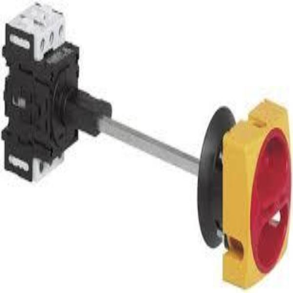 Disconnect Switch- Door Interlock Mounting-Short Metal Shaft Extension and Padlockable