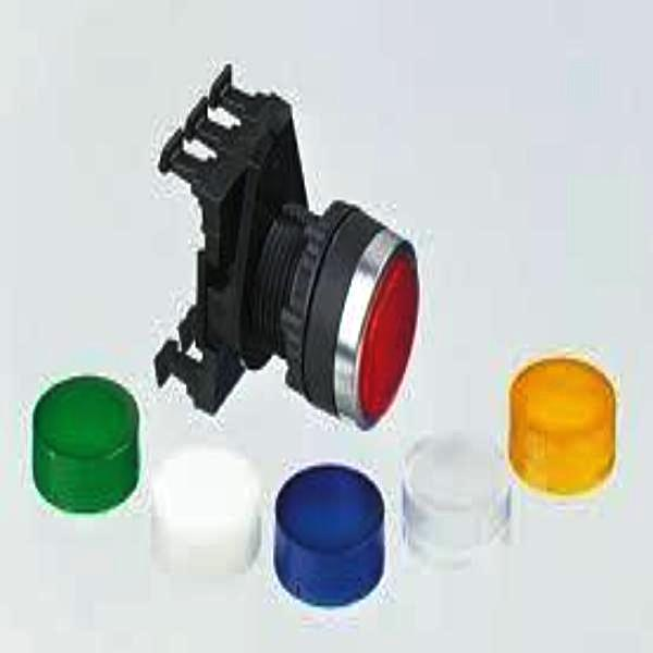 IP69K Rated 22mm Illuminated Projected Pushbutton Multi-Contact -HEAD, CLIP AND LED MODULE