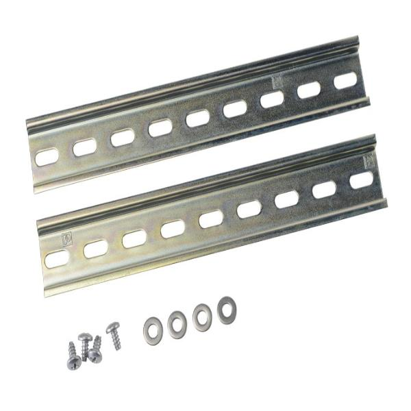 Din rail kit with screws
