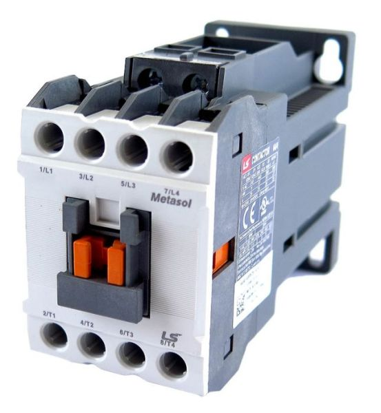 IEC Contactor, General Purpose, MC-6a, 24VDC, Metasol, MC-Series