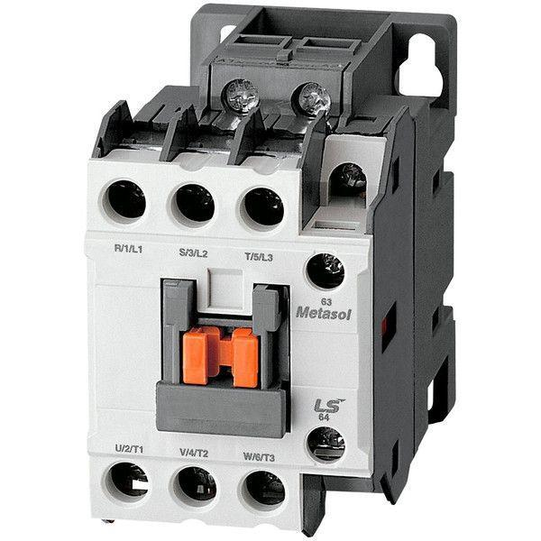 IEC Contactor, General Purpose, MC-12b, 24VDC, Metasol, MC-Series