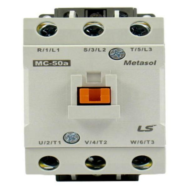 IEC Contactor, General Purpose, MC-50a, 24VDC, Metasol, MC-Series