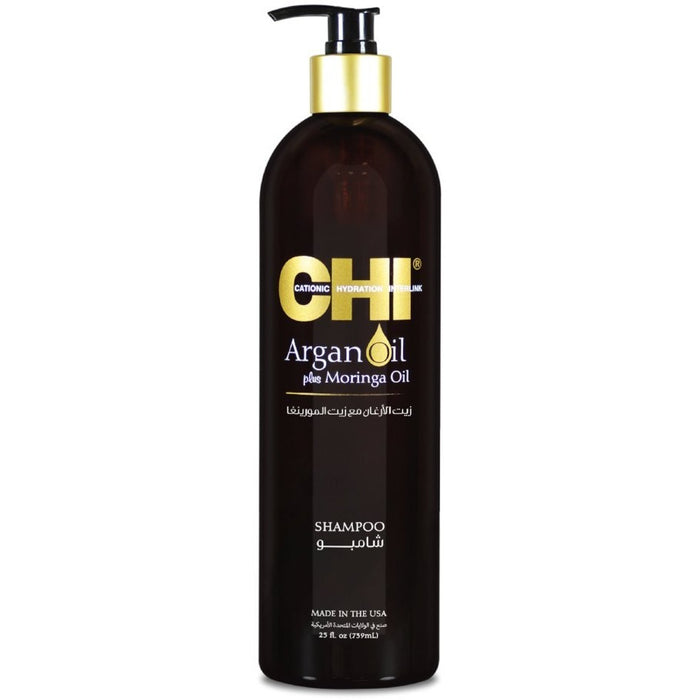 CHI Argan Oil Shampoo - (739 ml) - CHI