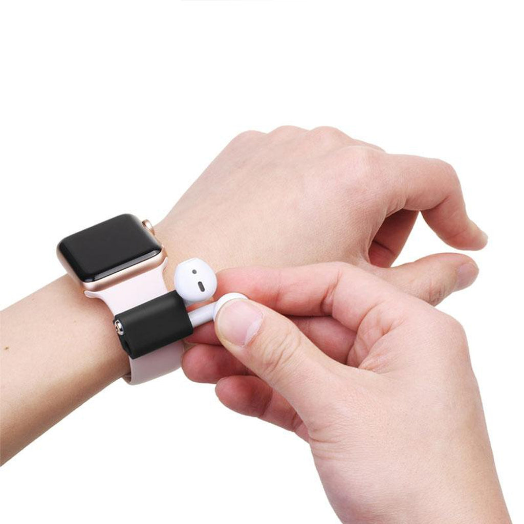 Silicone Air-pod Holder for Apple Watch