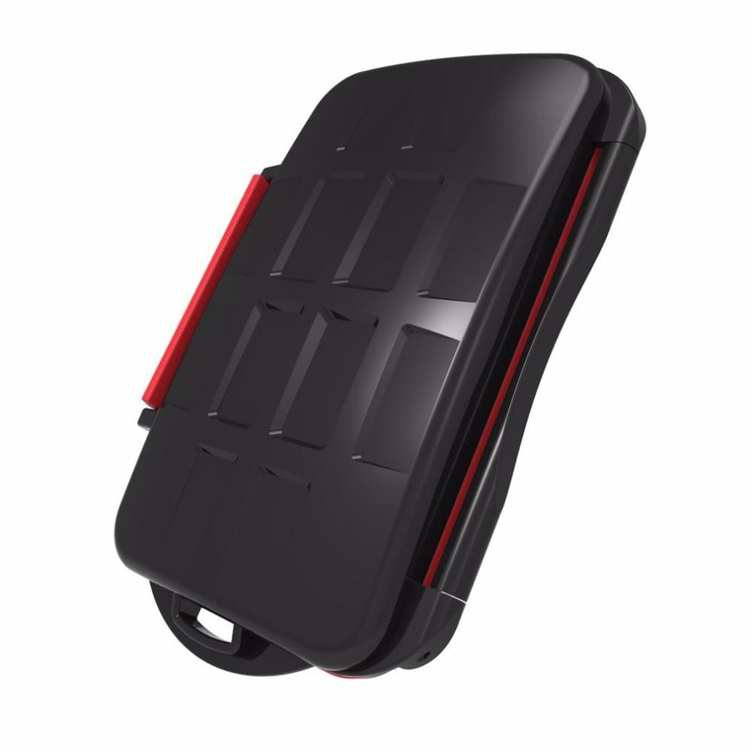 Waterproof anti-shock SD card case