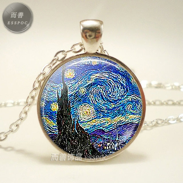 Art Pendent Necklace