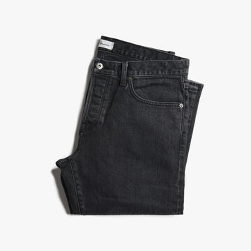 J.D. Washed Black Denim