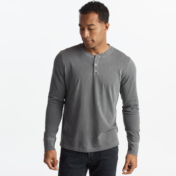 Midland Long Sleeve Henley